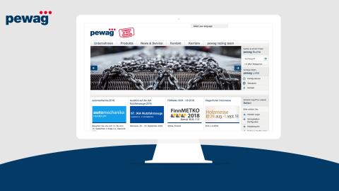 Webshop & Website PEWAG