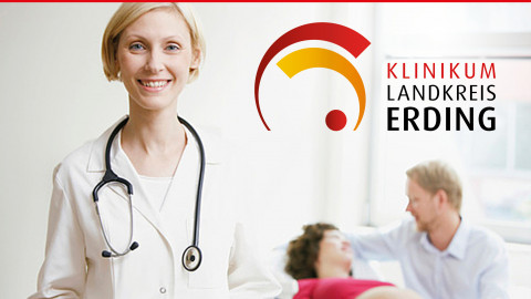 Webauftritt Klinikum Landkreis Erding