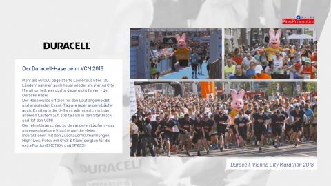 Duracell am Vienna City Marathon