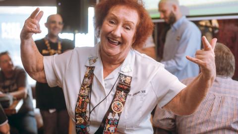 Rita Gilligan: Rockige Kellnerin der ersten Stunde