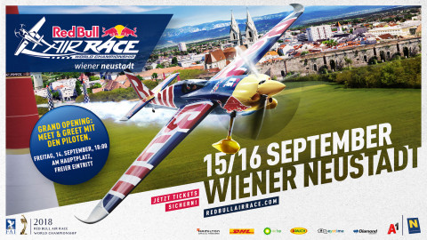 Red Bull Air Race 2018 in Wiener Neustadt