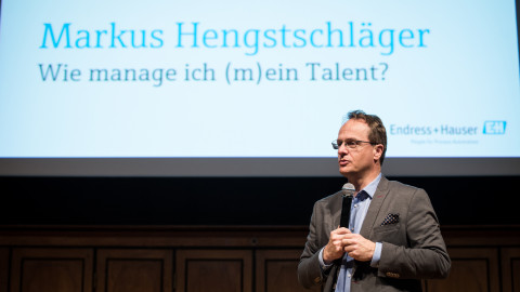 Prof. Makus Hengstschläger Key Note