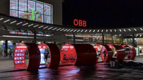 ÖBB Info Rail Südbahnstrecke on tour