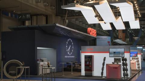 Großer Bahnhof -die ÖBB auf der Ferienmesse Wien