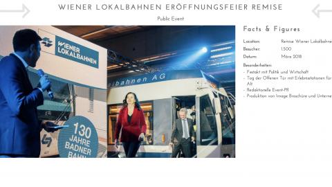Wiener Lokalbahnen Eröffnungsfeier