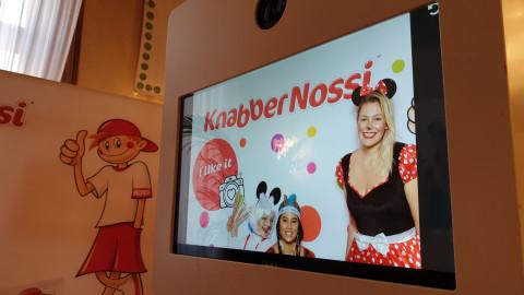 KnabberNossi Foto Booth