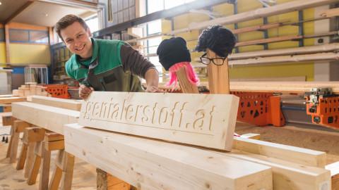 proHolz Jugendkampagne mit Bro Holz & Sista Wood