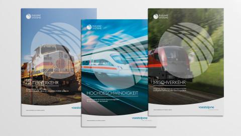 voestalpine Railway Systems Broschüren