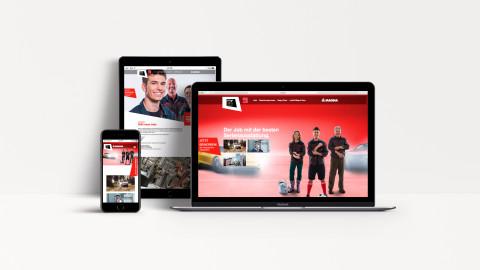 Website und App