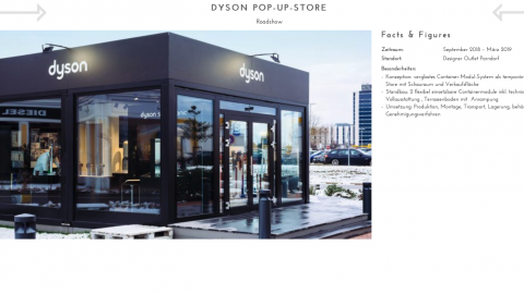 Dyson Pop-Up Store