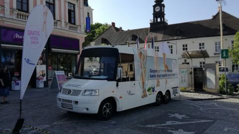 Der Bus in Hollabrunn