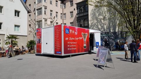 Der Truck in Bregenz
