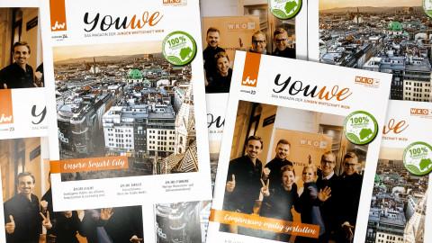YouWe - das Magazin der Jungen Wirtschaft Wien