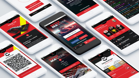 MAX Dome App & Social