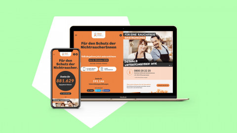 Don't Smoke – Österreich eine Stimme geben