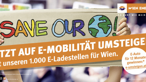 Plakat Save planet