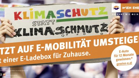 Wien Energie E-Mobilitätskampagne