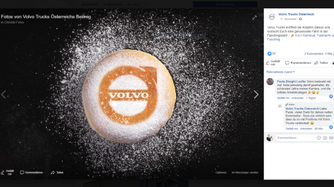 Volvo Trucks - Social Media Marketing