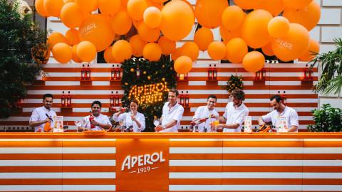 Die Aperol Bar - soviel Spritz muss sein!