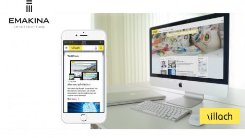 Website Stadt Villach