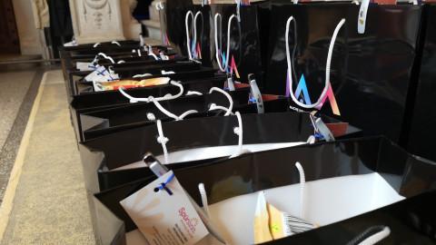 Goodie-Bags mit kreativer Positionierung