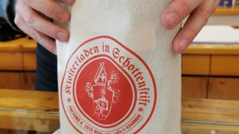 Baumwoll-Tasche Klosterladen im Schottenstift