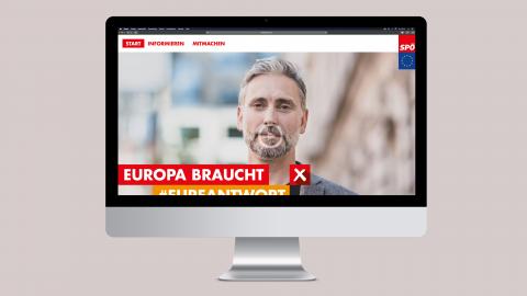 SPÖ EU Wahlkampf