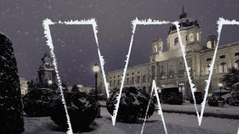 Winter in Wien.