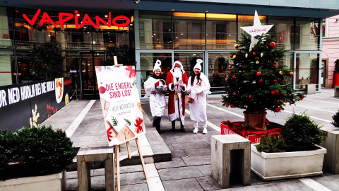 VAPIANO Weihnachts-Promotion