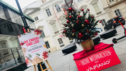 VAPIANO Weihnachts-Promotion – Erwische die Vapiano Engerl und gewinne Gutscheine
