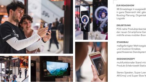 Samsung Galaxy S9 Tour