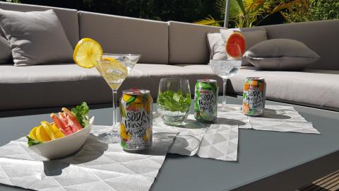 Sodawasser Cocktails