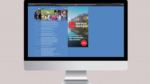 Servus Europa Banner