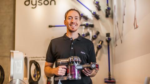 Dyson Sales Promotion Bodenpflege bei Mediamarkt/Saturn & Messen