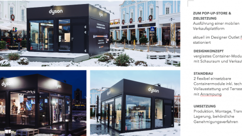 dyson Pop-Up-Store
