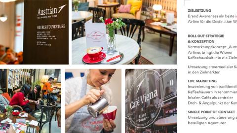 AUA Coffee Campaign Shanghai, Paris & Bukarest