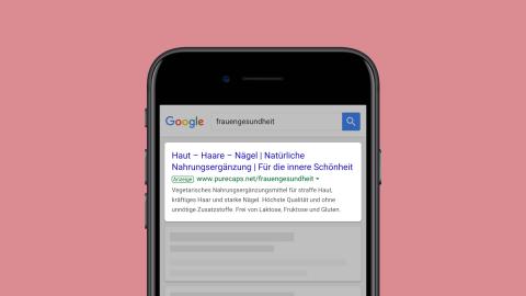 Promedico Google Ads Kampagne