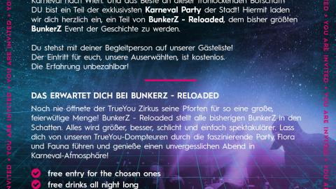 BunkerZ Einladung