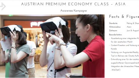 Austrian Premium Economy Class - Asia
