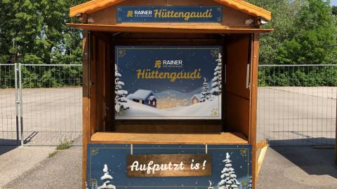 Branding Hütte
