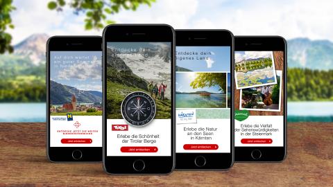 Auf dich wartet ein guter Sommer - Österreich Werbung