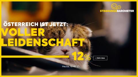 Live-Stimmungs-Barometer zeigt die Emotionen Österreichs