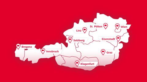 Interaktive DOOH-Kampagne verbindet ÖBB-Fahrgäste in ganz Österreich