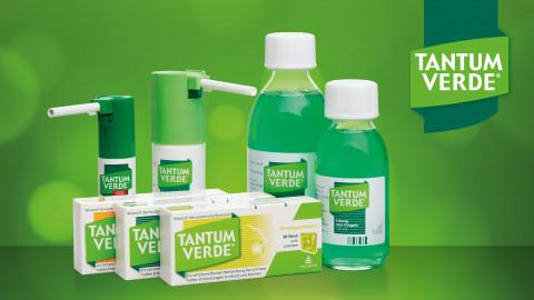 Tantum Verde: Das Halsschmerzgewitter im Griff