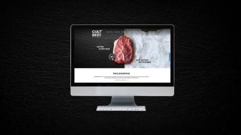 CULT BEEF Website