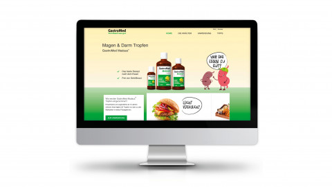 Gastromed Website