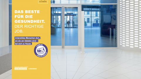 Recruiting Kampagne Pflegeberufe