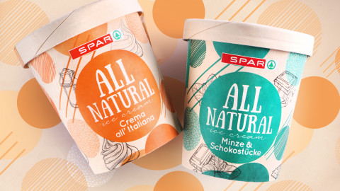 SPAR ALL NATURAL Eis