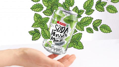 Sodawasser Minze
