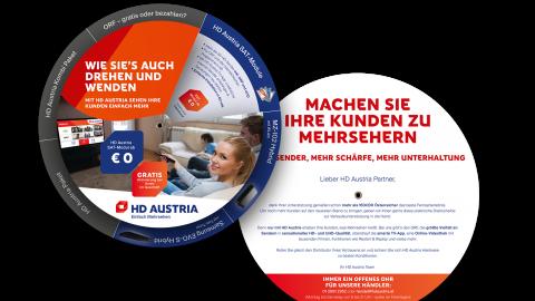 """HD Austria """"Händlermailing Drehscheibe"""""""